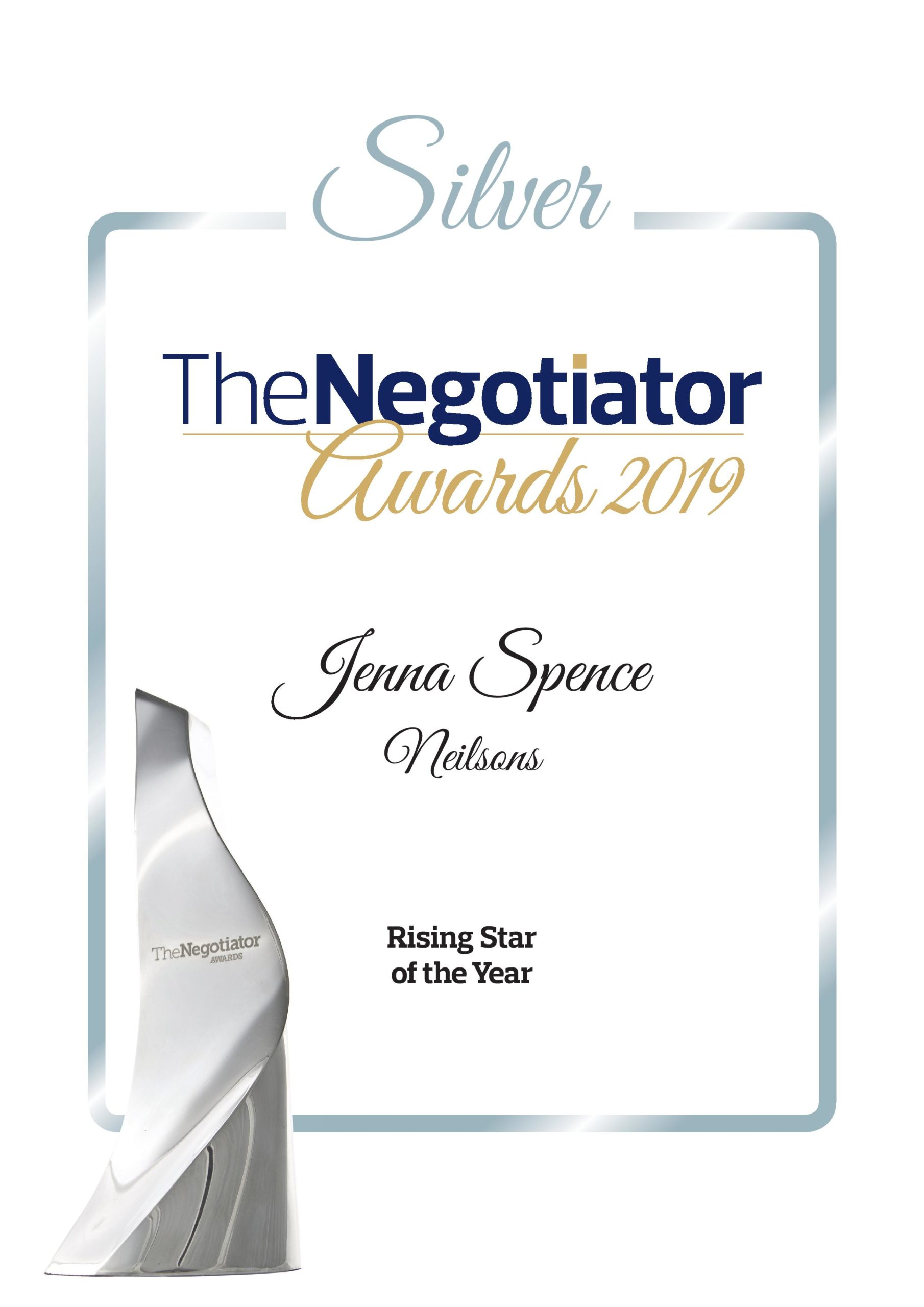 Silver Rising Star of the Year - Estate Agency
